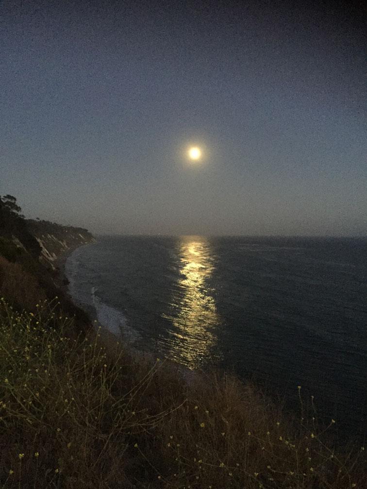 Full Moon Rising - More Mesa